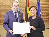 Verleihung des Bundesverdienstorden am Montag 24. April 2017