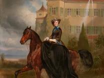 Sisis Geschenk an den Kaiser; Porträt zur Verlobung der späteren Kaiserin Elisabeth von Österreich