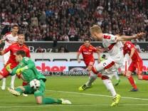 Fußball 2 Bundesliga VfB Stuttgart 1 FC Union Berlin 30 Spieltag am 24 04 2017 xmdx eisern