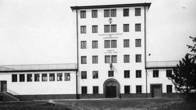 Max-Planck-Gesellschaft Euthanasie