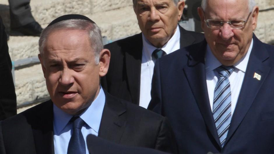 Nahostkonflikt Gabriel in Israel