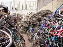 Polizei stellt 3500 Fahrräder sicher