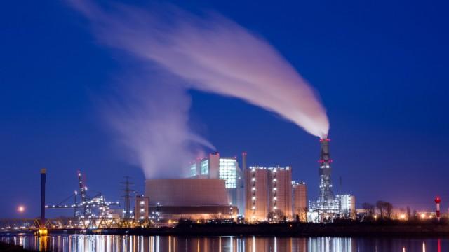Kohlekraftwerk Moorburg in Hamburg