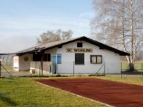 Weßling: Vereinshäuschen SC Wessling