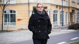 Die Linke Linken-Politikerin Susanne Schaper