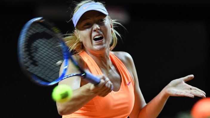 Tennis: WTA-Tour - Stuttgart - Maria Scharapowa