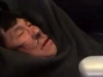 Zwischenfall in Maschine von United Airlines