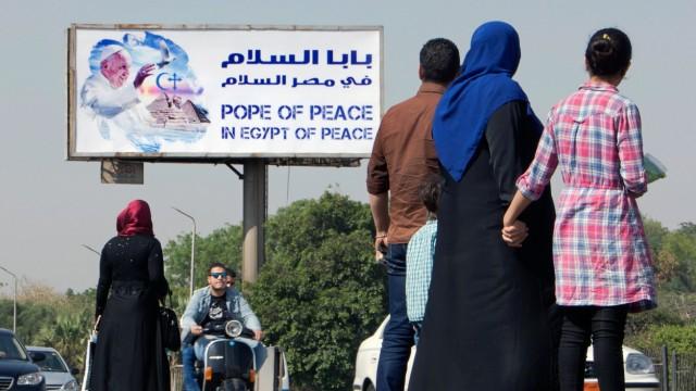 Papst Franziskus Papst in Ägypten