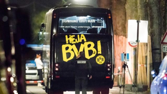 Festnahme nach Anschlag auf BVB-Mannschaftsbus