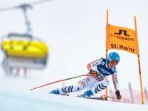 10 02 2017 St Moritz SUI FIS Weltmeisterschaften Ski Alpin St Moritz 2017 alpine Kombination; Ski Weltcup