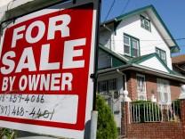 US-Immobilienkrise war Beginn der Finanzkrise 2007