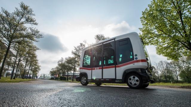 Pilotprojekt zum autonomen Busfahren in Bayern