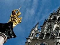 Sonnenschein in München