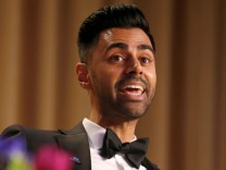 Minhaj of Comedy Central performs at the White House Correspondents' Association dinner in Washington