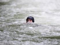 Schwimmer in München