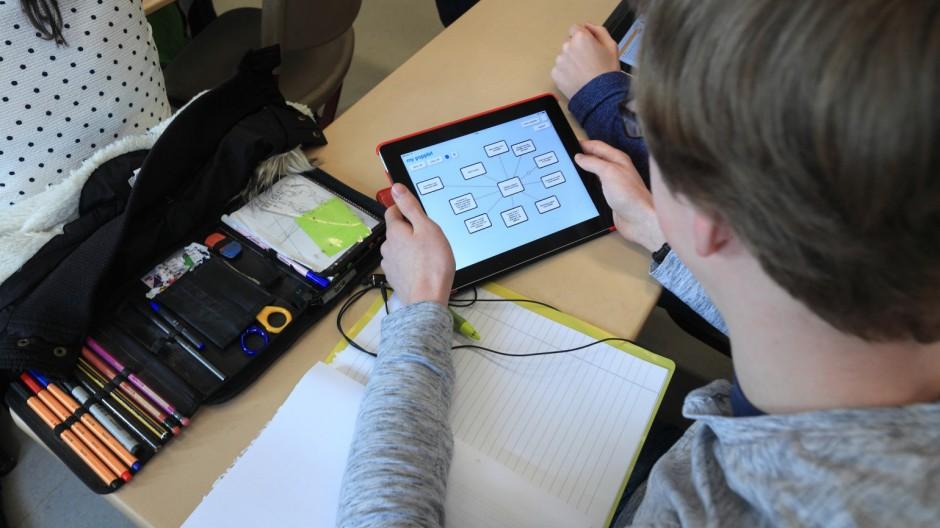 Tablets in Schulen