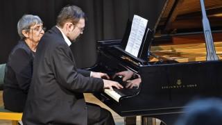 Gilching, Gymnasium, Klavierabend