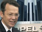 Otto Fricke, Opel, General Motors