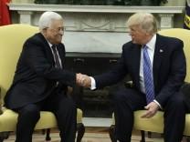 Donald Trump, Mahmoud Abbas
