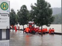 Isar, Hochwasser in Bayern, 2005