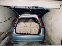 Festnahme von Millionendieb Ingo Spitz in Zadar, 2005