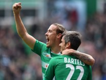 FUSSBALL 1 BUNDESLIGA 29 SPIELTAG SAISON 2016 2017 SV Werder Bremen Hertha BSC Berlin 29 04 2017