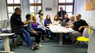 40 Jahre SZ EBE - Redaktionssitzung