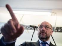 Martin Schulz besucht StartUp in Berlin