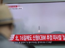 Raketentest in Nordkorea