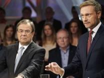 TV-'Wahlarena' zur NRW-Landtagswahl