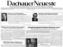 Zeitungsseite
