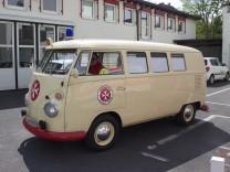 VW-T1-Rettungswagen von 1965