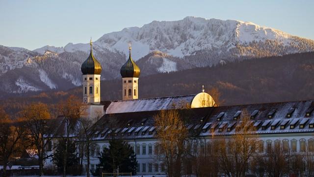 Benediktenwand Basilika Kloster Benediktbeuern