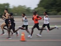 Marathonrekordversuch in Monza