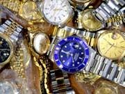 Gefälschte Rolex-Uhren, dpa