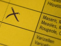 Impfpass - Masern, Mumps und Röteln