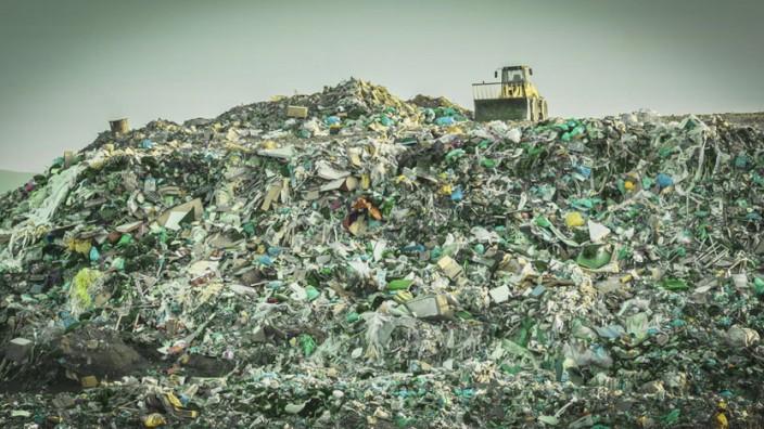 Müll Deponie