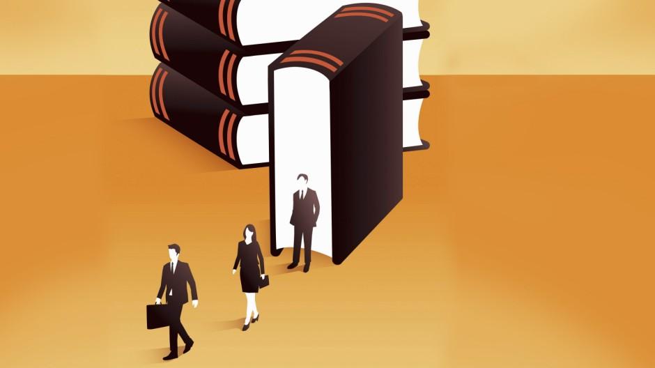 Illustration zu Rechts-Unternehmen