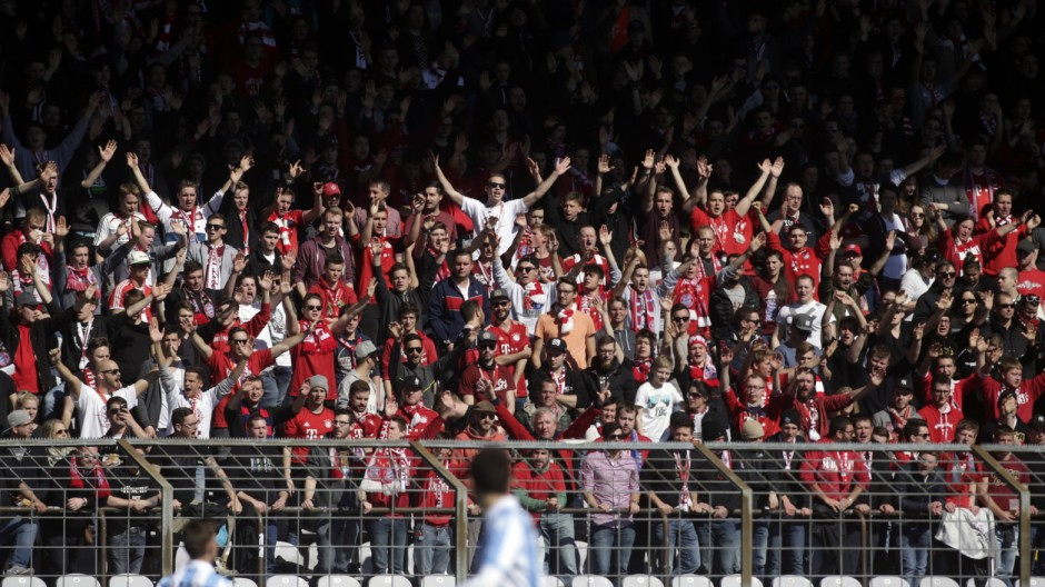 Regionalliga-Derby FC Bayern München II - TSV 1860 München II, 2017