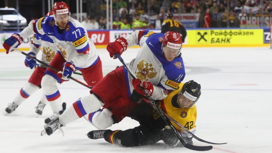 eishockey russland deutschland