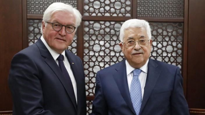 Mahmoud Abbas, Frank-Walter Steinmeier