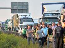 Schwerer Unfall auf der A14 bei Tornau