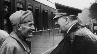 Mussolini And Hitler In Rastenburg 1944