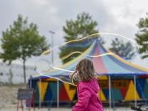 Spielaktion zum Weltkindertag in München, 2016