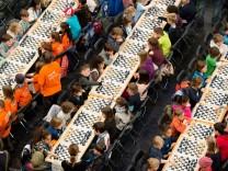 Schachturnier 'Rechtes Alsterufer gegen Linkes Alsterufer'
