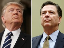 US-Präsident Donald Trump, Ex-FBI-Chef James Comey