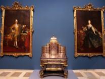 Gemälde von Kaiserin Maria Theresia und Gemahl