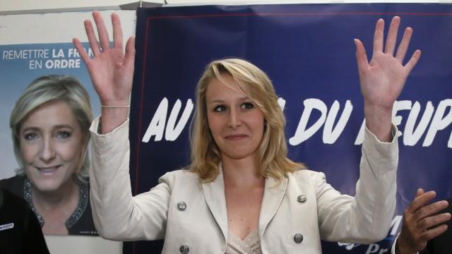 Marion Maréchal-Le Pen Frankreich