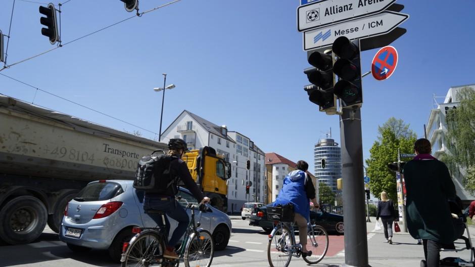 Süddeutsche Zeitung München Kampagne für mehr Sicherheit
