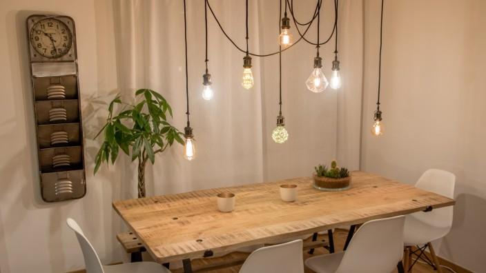 Gut bekannt DIY: Vier Lampen zum Selbstbauen - Stil - Süddeutsche.de DG31